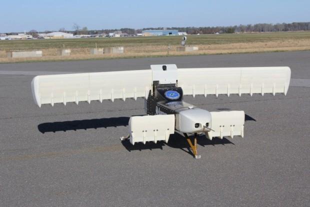 Das Fluggerät Lightning Strike sieht etwas ungewöhnlich aus. (Foto: Aurora Flight Services)