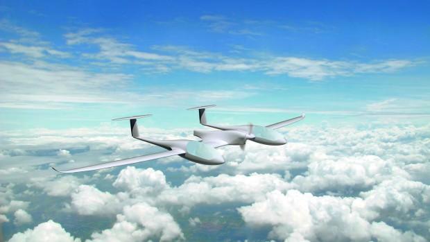 HY4 ist ein Brennstoffzellenflugzeug für vier Insassen. (Foto: DLR)