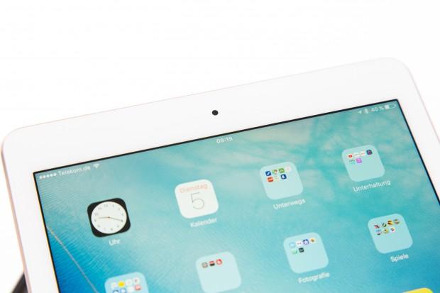Das kleine iPad Pro hat wie das iPad Air 2 einen 9,7-Zoll-Bildschirm. (Bild: Martin Wolf/Golem.de)