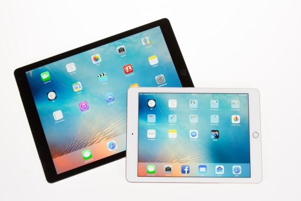 Das iPad Pro und das iPad Pro 9.7 im direkten Vergleich (Bild: Martin Wolf/Golem.de)