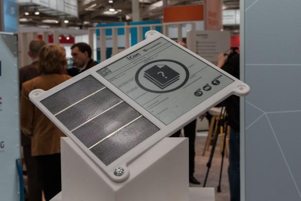 E-Paper statt Papier: Die Zolldokumente sollen künftig digital sein und auf einem E-Paper-Display angezeigt werden. (Foto: Werner Pluta/Golem.de)