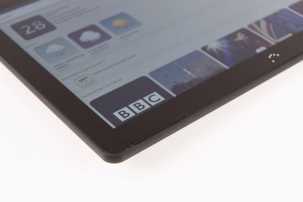 Auf dem Tablet läuft Ubuntu in der Version 15.04. (Bild: Martin Wolf/Golem.de)