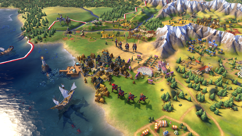 Firaxis: Civilization 6 mit sichtbar expandierenden Städten - Civilization 6 (Bild: 2K Games)