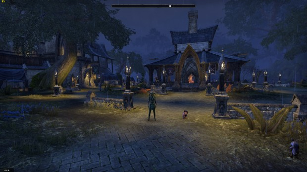 35 fps in TESO one Turbo v3 ... (Screenshot: Marc Sauter/Golem.de)