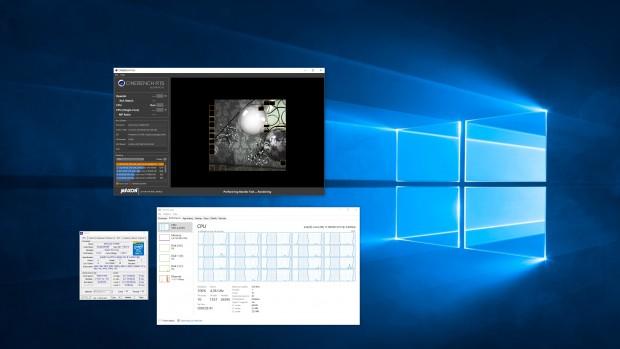6950X auf 4,4 GHz übertaktet (Screenshot: Marc Sauter/Golem.de)