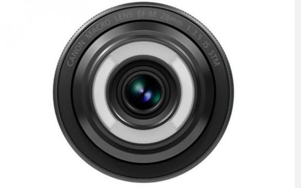 Canon EF-M 28mm 1:3,5 Makro IS STM (Bild: Canon)