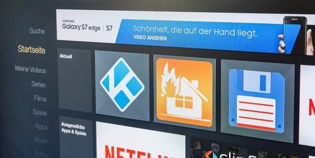 Das Samsung-Werbebanner erscheint auch, wenn der Clip bereits angesehen wurde. (Bild: Martin Wolf/Golem.de)