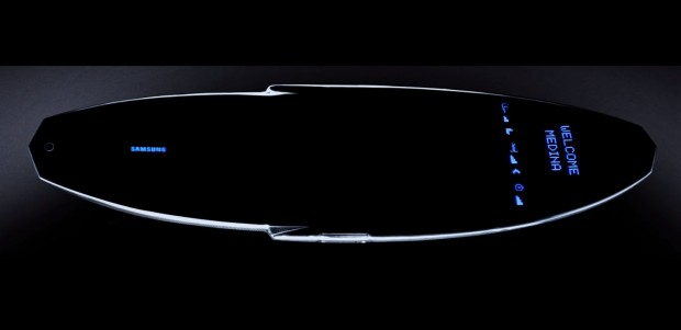 Das Galaxy Surfboard von Samsung (Bild: Samsung)