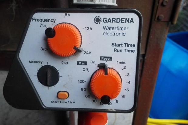 Der Urgroßvater des smarten Bewässerungscomputers: der Gardena Watertimer electronic aus den 90er Jahren. (Foto:Friedhelm Greis/Golem.de)