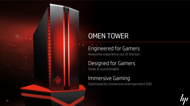 Omen-Desktop für Spieler (Bild: HP)