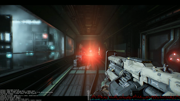 Doom streamt der Compute Stick einwandfrei. (Screenshot: Golem.de)