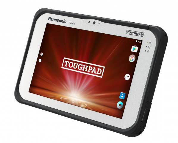 Das neue Ruggedized-Tablet FZ-B2 Mk 2 von Panasonic (Bild: Panasonic)