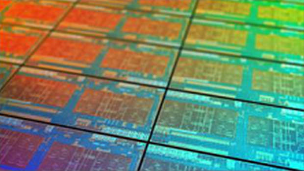 Gerenderter Summit-Ridge-Wafer (Bild: AMD)
