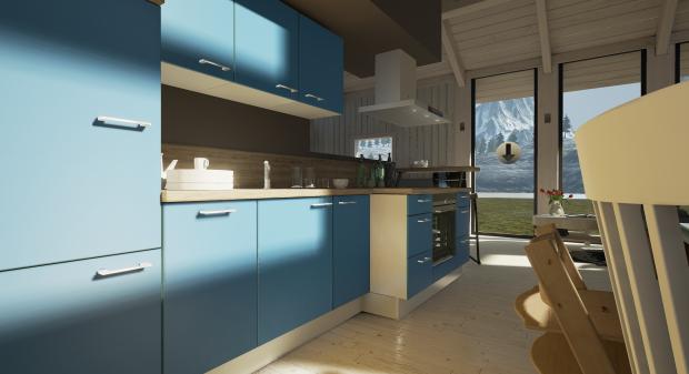 VR-Küche #1 (Bild: Innoactive)