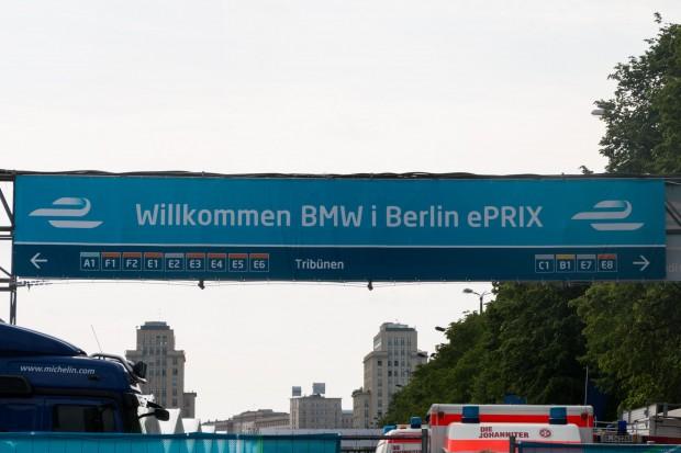 Der E-Prix 2016 fand im Zentrum von Berlin statt. (Foto: Werner Pluta/Golem.de)