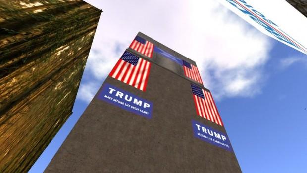 """Der etwas andere """"Trump-Tower"""" (Screenshot: Zeit Online)"""