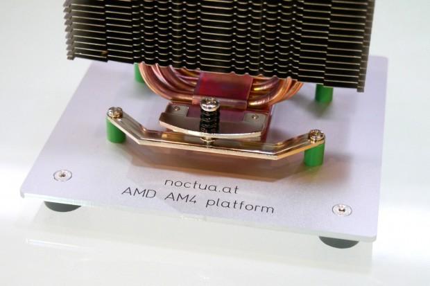 Sockel AM4 braucht neue CPU-Kühler (Bild: Marc Sauter/Golem.de)