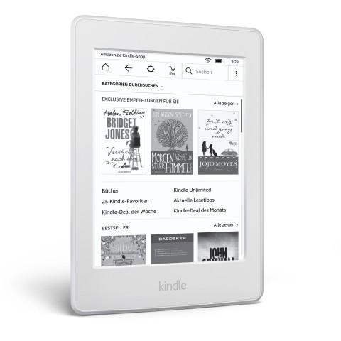 Kindle Paperwhite in weißem Gehäuse (Bild: Amazon)