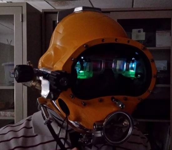 Divers Augmented Vision Display (David) (Bild: US Navy)