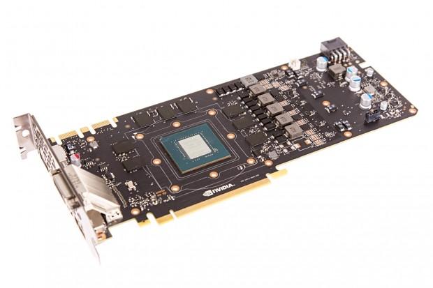 Platine der Geforce GTX 1080 Founder's Edition (Foto: Martin Wolf/Golem.de)