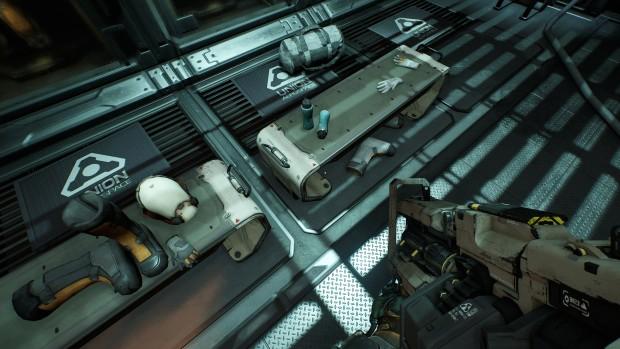 Doom mit Ultra-Schatten auf einer 4-GByte-Karte ... (Screenshot: Marc Sauter/Golem.de)