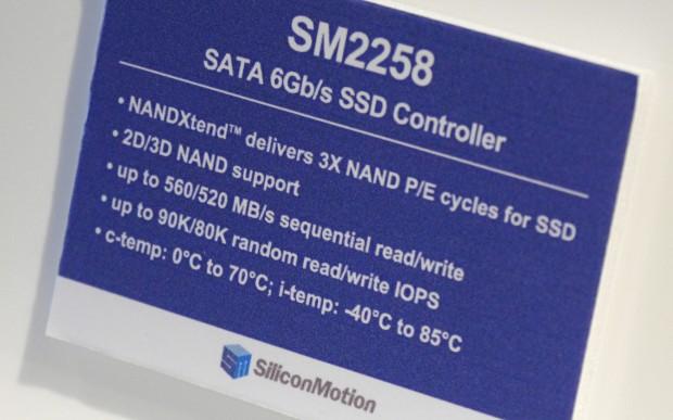Daten des SM2258-Controllers (Foto: Marc Sauter/Golem.de)
