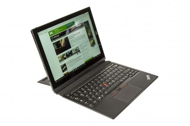 Die Tastatur entspricht vom Aufbau und der Größe den Tastaturen der aktuellen Thinkpad-Notebooks. (Bild: Martin Wolf/Golem.de)