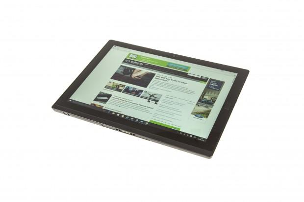 Das Thinkpad X1 Tablet ohne Tastatur - das Display ist 12 Zoll groß. (Bild: Martin Wolf/Golem.de)