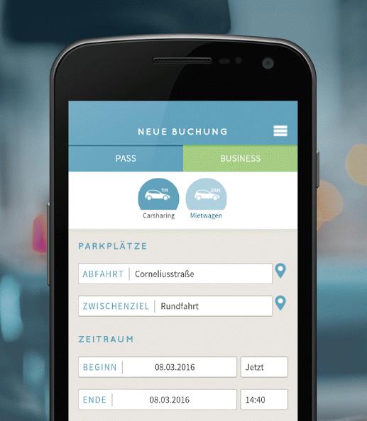 Ubeeqo: Europcar-App vereint Mietwagen, Carsharing und Taxis - Ubeeqo (Bild: Ubeeqo)