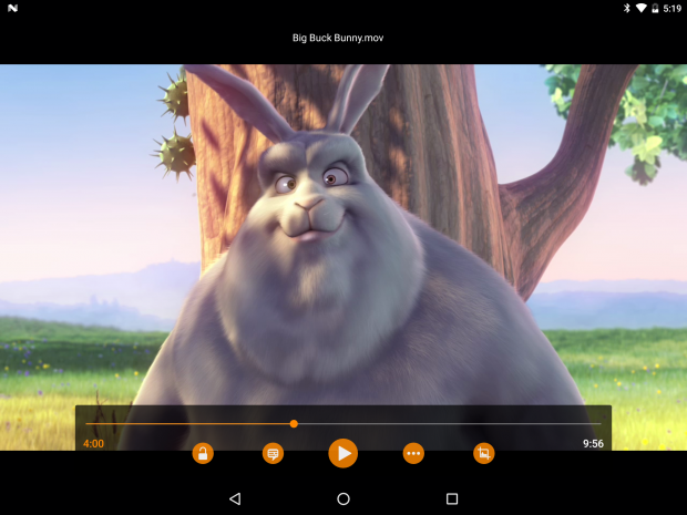 VLC 2.0 für Android (Screenshot: Jean-Baptiste Kempf)