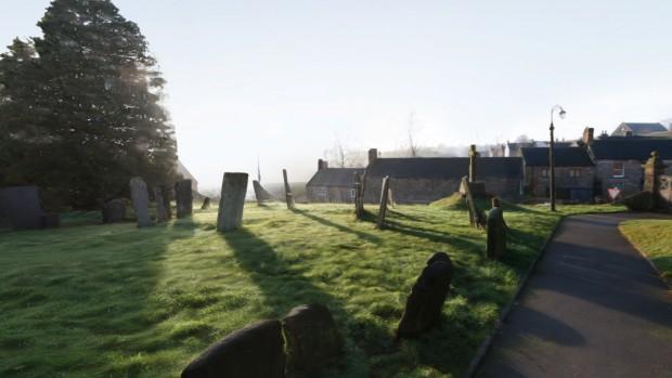 Eine der Destinations ist eine englische Kirche ... (Bild: Valve)