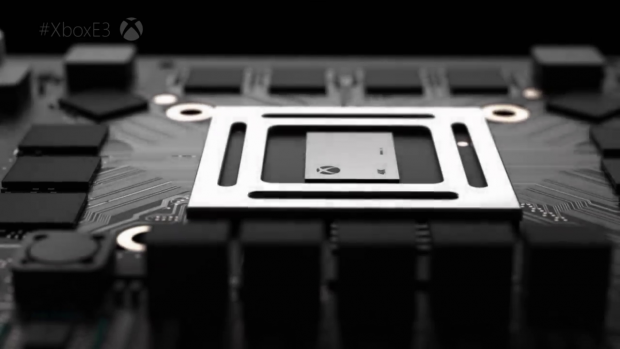 Rendering der Xbox Scorpio (Bild: Microsoft)