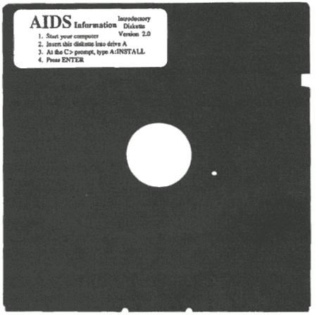 Der Trojaner wurde nicht per Mail-Anhang oder Exploit-Kit verteilt, sondern über Disketten. (Bild: F-Secure)