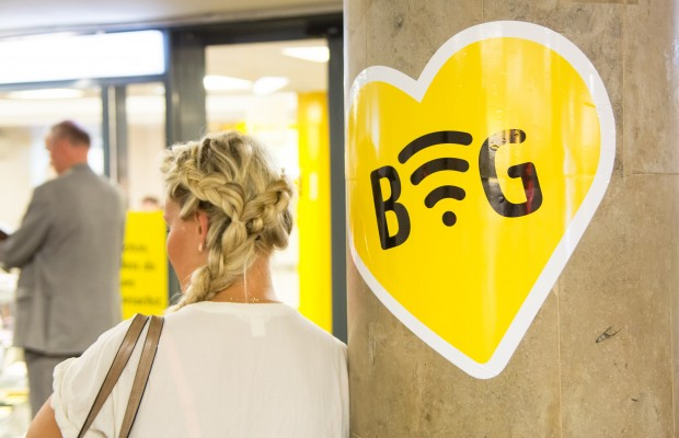 Die BVG liebt freies WLAN, zunächst auf 25 U-Bahnhöfen. (Foto: Martin Wolf/Golem.de)