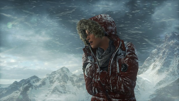Testszene Rise of the Tomb Raider (Screenshot: Marc Sauter/Golem.de)