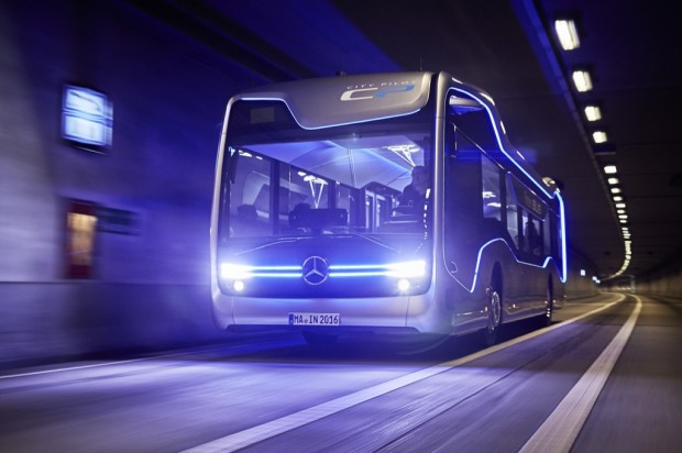 Future Bus (Bild: Mercedes-Benz)