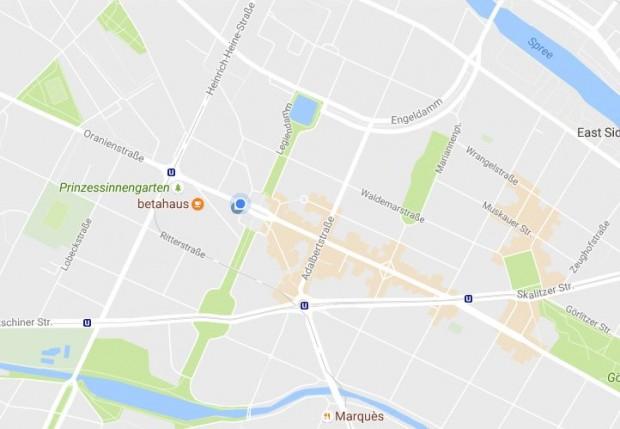 Die neuen in Orange markierten Bereiche sind sofort zu erkennen. Hier lohnt es sich hinzugehen. (Screenshot: Golem.de)