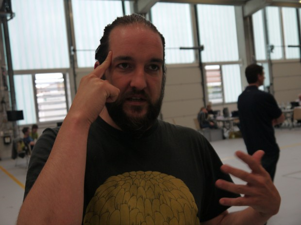 Alexander Herrmann hat sich mit dem Team Eccos die Social Sound Experience ausgedacht. (Bild: Jan Bojaryn)