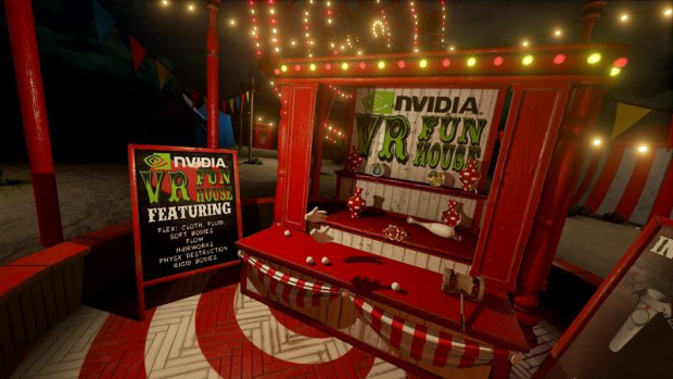 VR Funhouse (Screenshot: Nvidia)