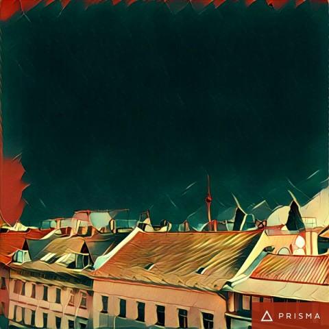 Die Aussicht aus dem Golem.de-Büro mit Prisma (Bild: Prisma, Tobias Költzsch/Golem.de)