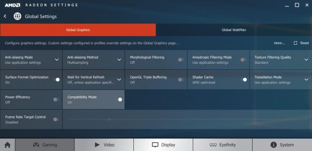 Der Compatibility Mode muss manuell aktiviert werden (Screenshot: Marc Sauter/Golem.de)