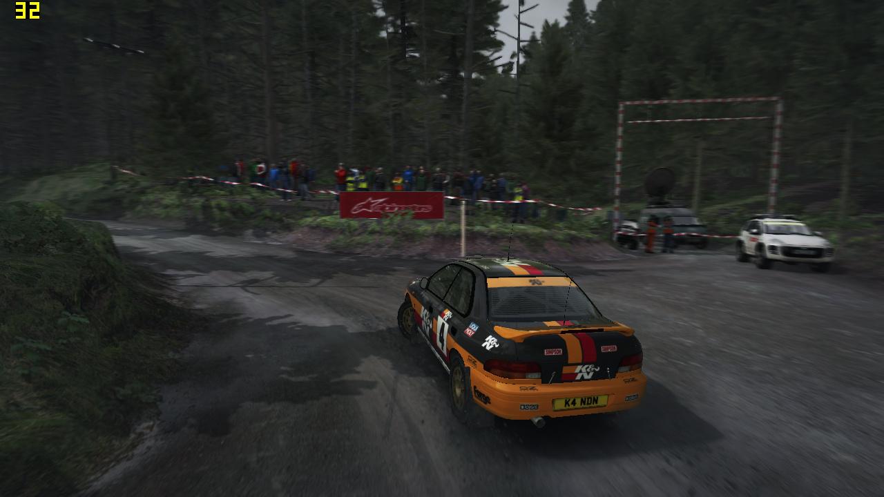 Mini-PC Skull Canyon im Test: Totenkopf-NUC mal nicht von ihren Treibern ermordet - Dirt Rally in 720p auf dem Skull Canyon (Screenshot: Marc Sauter/Golem.de)