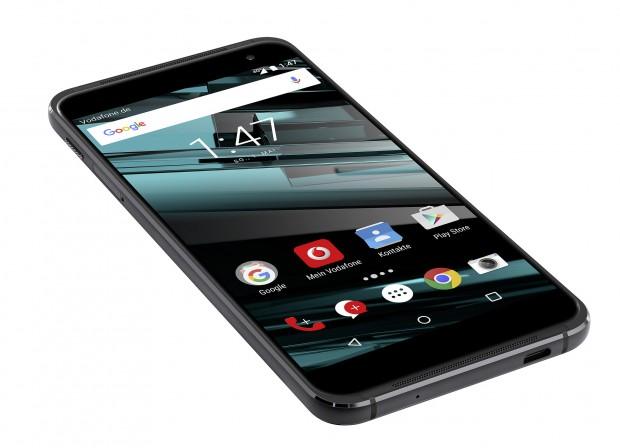 Vodafone hat mit dem Smart Platinum 7 ein neues Smartphone vorgestellt, das hochwertig ausgestattet ist. (Bild: Vodafone)