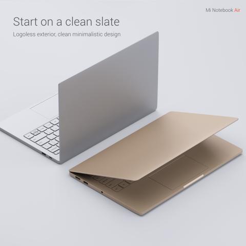 Die beiden Mi-Notebook-Air-Modelle mit 12,5 und 13,3 Zoll großen Displays (Bild: Xiaomi)