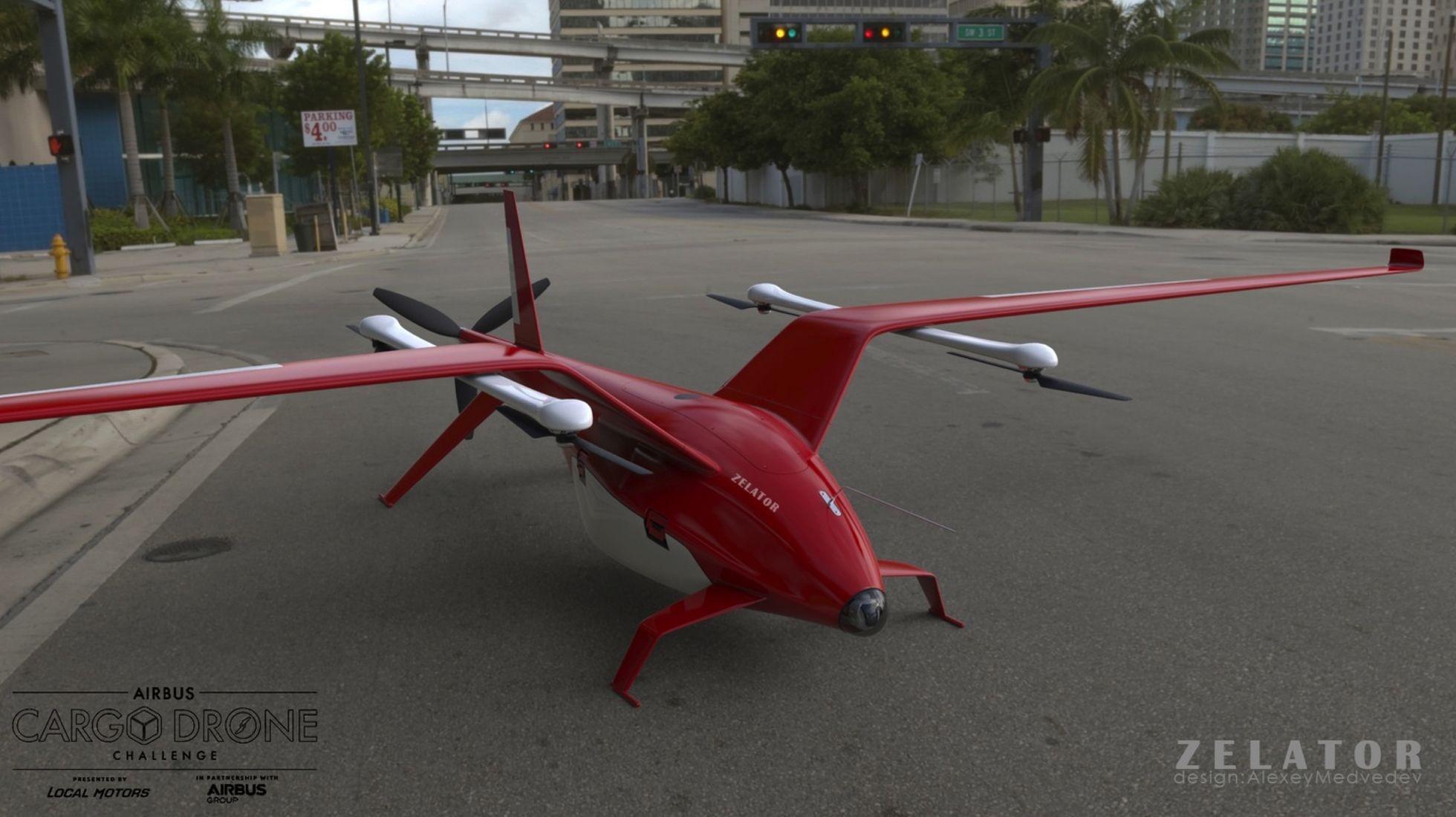 Crowdsourcing: Airbus zeichnet Lieferdrohnen aus -