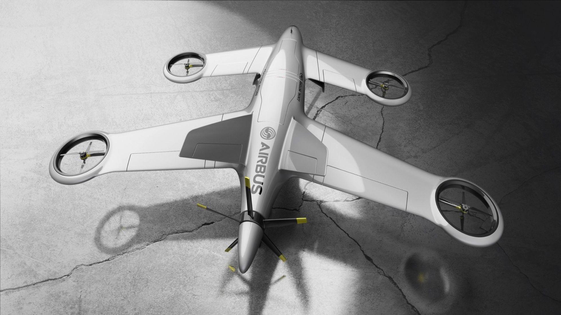 Crowdsourcing: Airbus zeichnet Lieferdrohnen aus - Thunderbird wurde von einem Franzosen konzipiert. (Bild: Airbus Group/Local Motors)