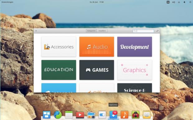Das App Center soll die neue zentrale Anlaufstelle für den Bezug von Programmen werden. (Bild: Screenshot Valentin Höbel)