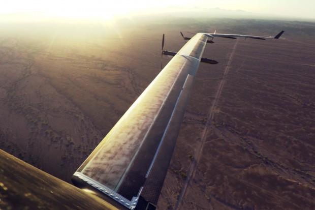 Aquila ist ein mit Solarstrom betriebenes, unbemanntes Flugzeug. (Bild: Facebook)