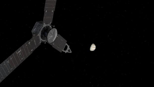 Die Reise zu Jupiter hat knapp fünf Jahre gedauert. (Foto: Nasa/JPL-Caltech)