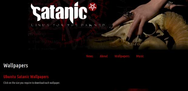 Die Ubuntu Satanic Edition (Webseite) zielt vor allem auf Heavy-Metal-Anhänger ab, hat aber leider bereits Rost angesetzt. Dafür ist freie Heavy-Metal-Mucke eingebaut. (Bild: Kristian Kißling/Linux Magazin)